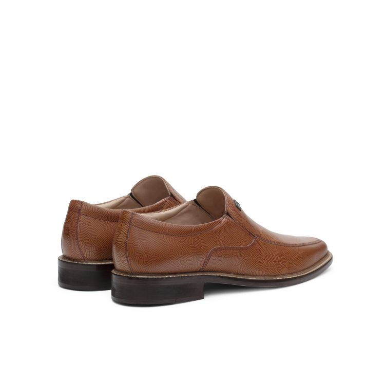 SAM05-TAN03 MNJ Slipon Formal Shoes