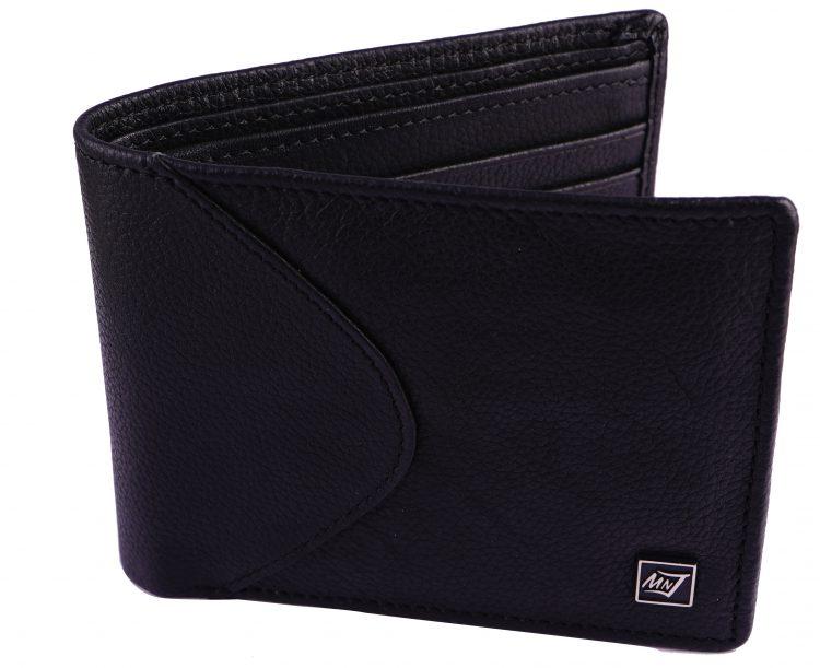 Mnj black wallet