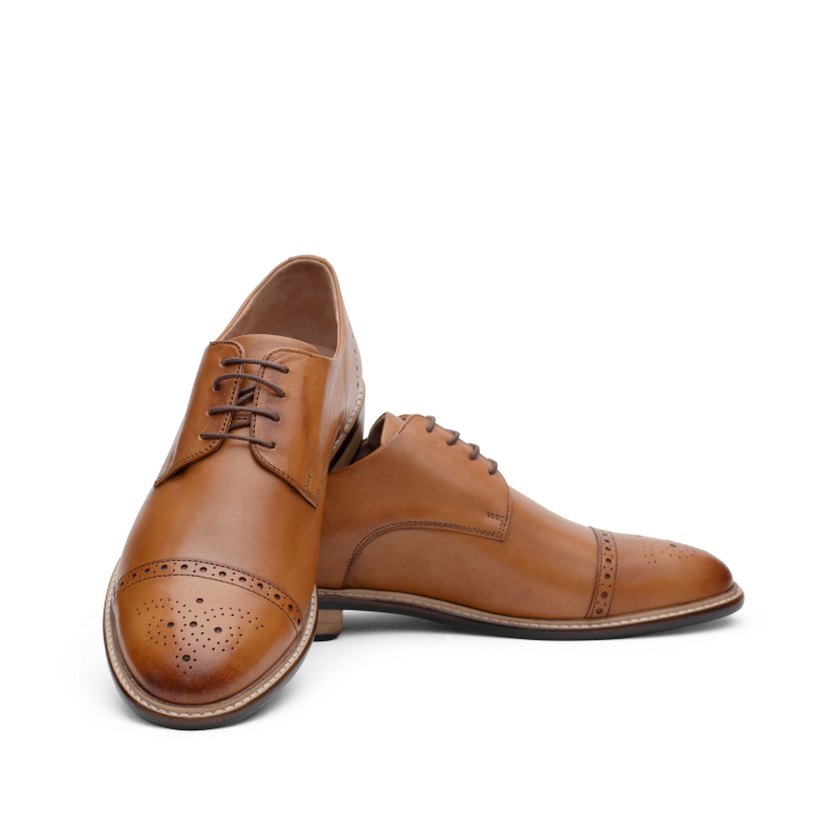 VIC01-TAN MNJ Shoes