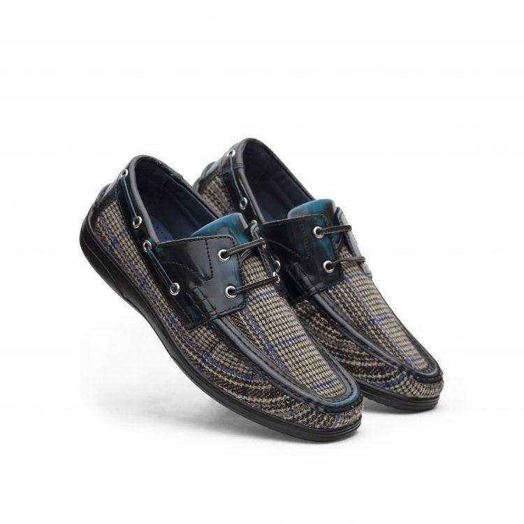 LAM01-TRQ-MNJ Men Leather Shoes (5)
