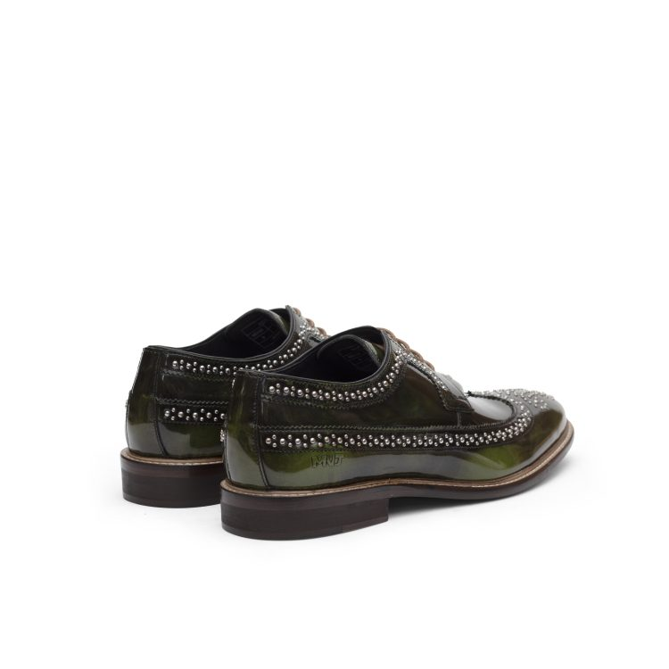 RIC01-OLIVE Green MNJ Party Shoes