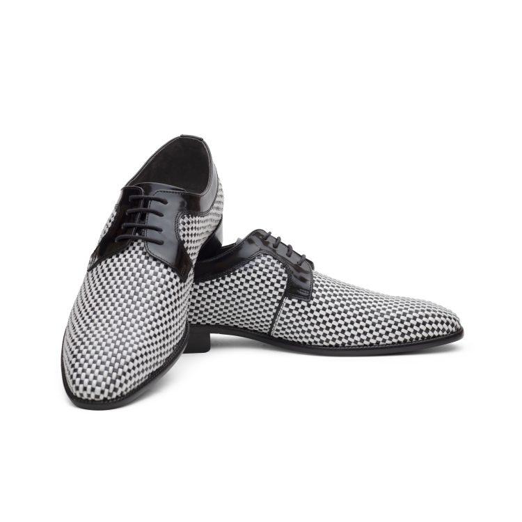 SAM12-BLK Men Party Black Shoes (