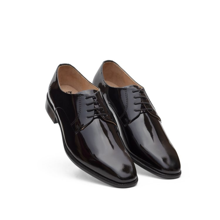 SAM12-BLK1 Formal Black Shoes (5)