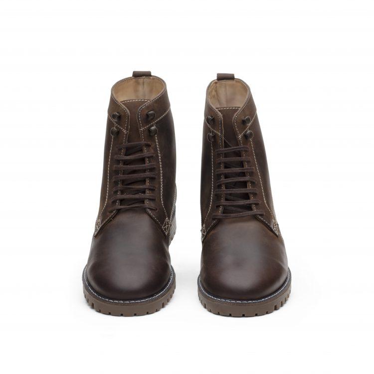VICBT01-BRN Brown Men Shoes
