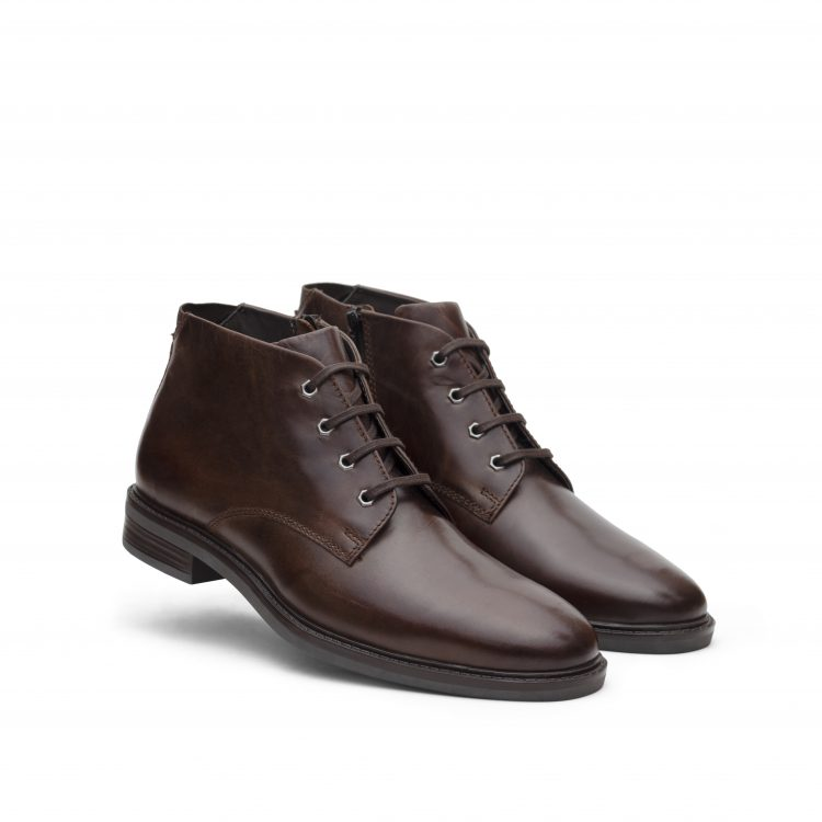 VICBT05-BRW-Brown Leather Shoes (5)